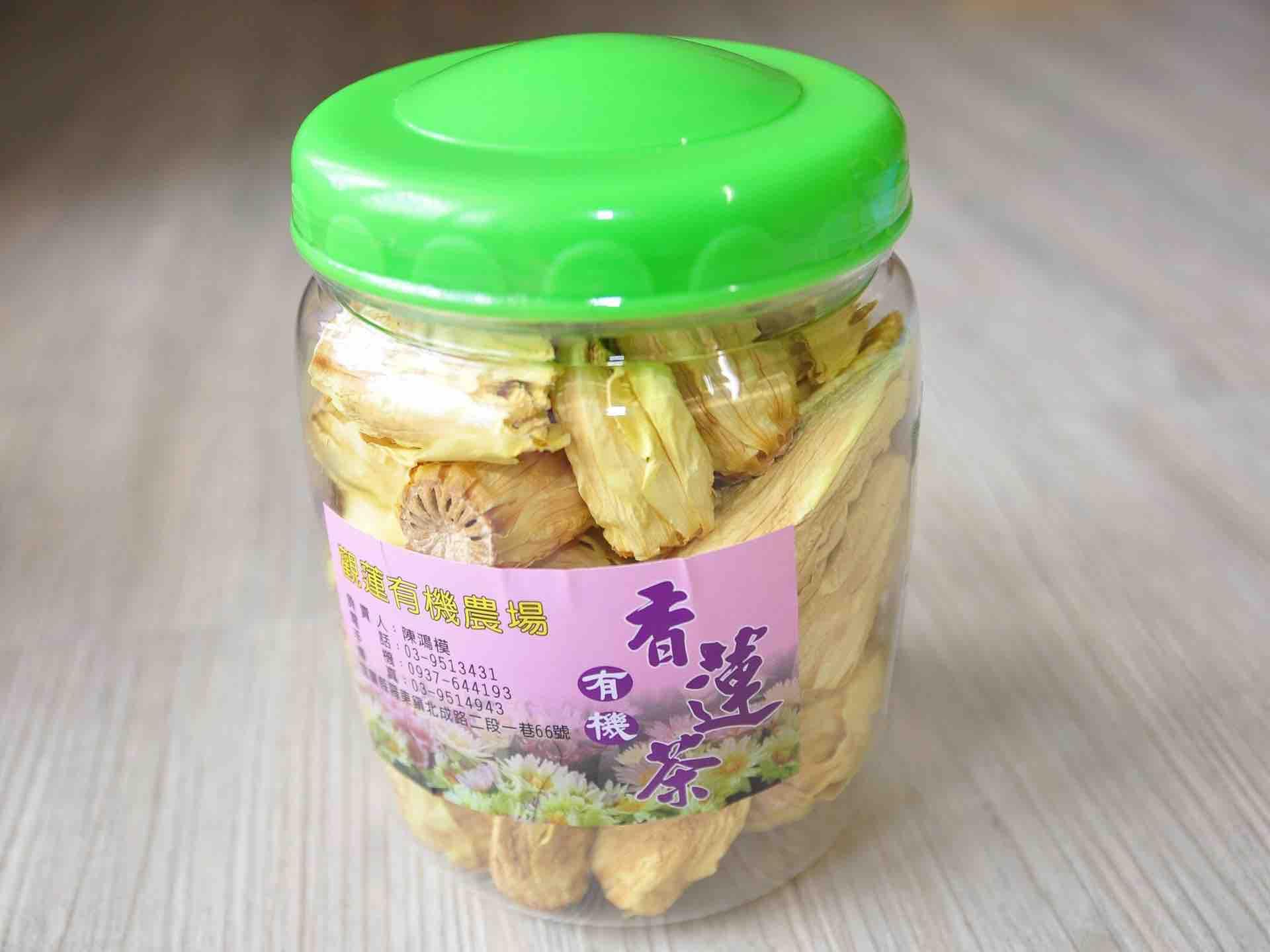 有機香蓮茶(黃)(罐裝60克)